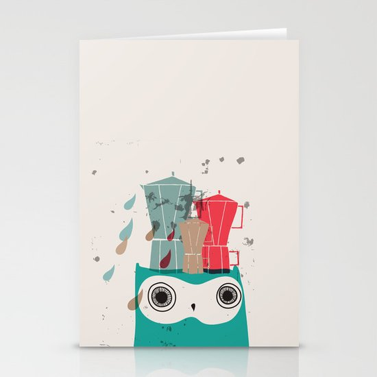 Owl Aloud Stationery Card