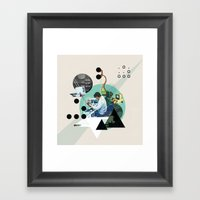 Hackers Framed Art Print