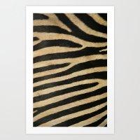 Strips Art Print