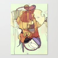 Confusion. Canvas Print
