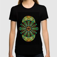 Firework Womens Fitted Tee Black SMALL