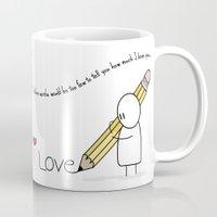 I Love You...  Mug