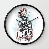 Respect the Dark Side Vader Wall Clock