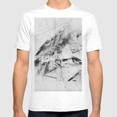 Network SMALL White Mens Fitted Tee