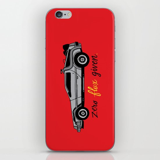 Zero Flux Given. iPhone & iPod Skin