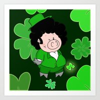 Luck Of The Irish Art Print