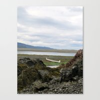 Abandoned :: A Lone Cano… Canvas Print