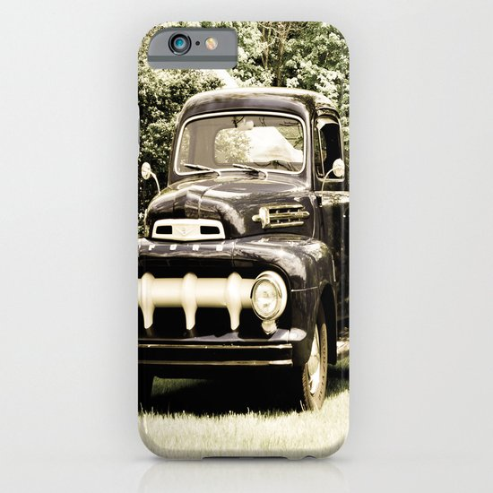 Ford in a Field iPhone & iPod Case