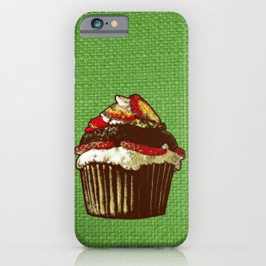 strawberry cake iPhone & iPod Case