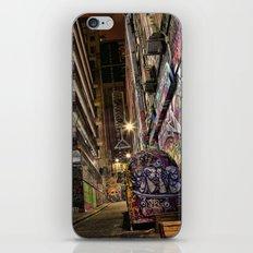 Graffiti Lane iPhone & iPod Skin