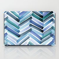 Cycladic Chevron iPad Case