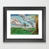 Clouds Of The Mind 1 Framed Art Print
