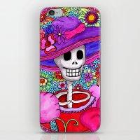 Catrina Doña Beatriz iPhone & iPod Skin
