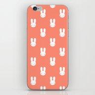 Rabbit Pink iPhone & iPod Skin