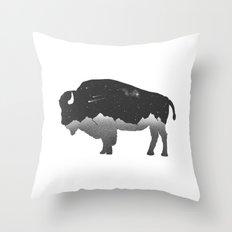 The Buffalo Throw Pillow