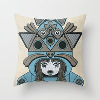Lei Sa Drogarmi Throw Pillow