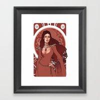Regina Di Quadri Framed Art Print