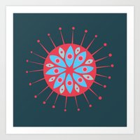 Radiolarian 7 Art Print