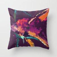 Angelfish V2 Throw Pillow