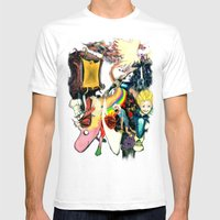 Final Adventure Fantasy … Mens Fitted Tee White SMALL
