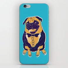 Henry the Pug iPhone & iPod Skin