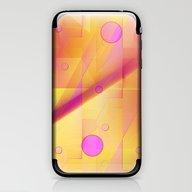 Geometric Pattern Pink A… iPhone & iPod Skin