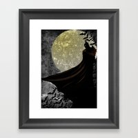 Guardian Of The Knight  Framed Art Print