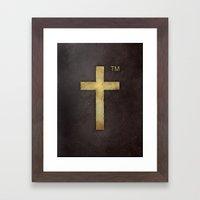 Trademark Framed Art Print