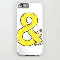 iPhone & iPod Case featuring Ampersand pencil by ilopezyou