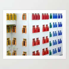The MICA building, 140 Hill Street Art Print