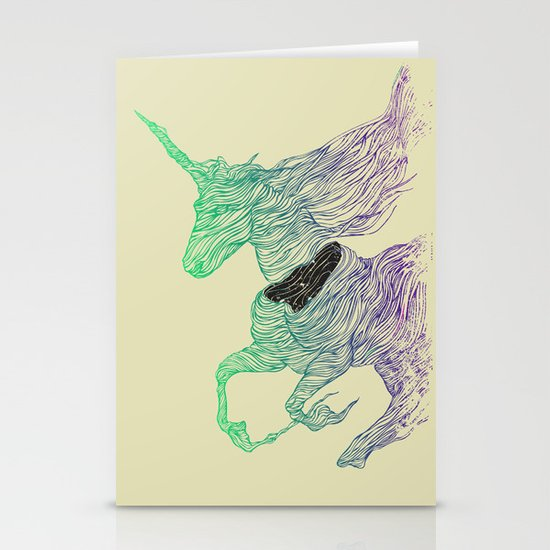 Dissolve  Stationery Card