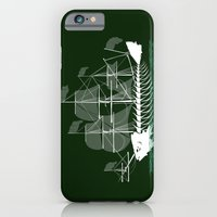 iPhone & iPod Case featuring Cutter Fish by Brandon Ortwein