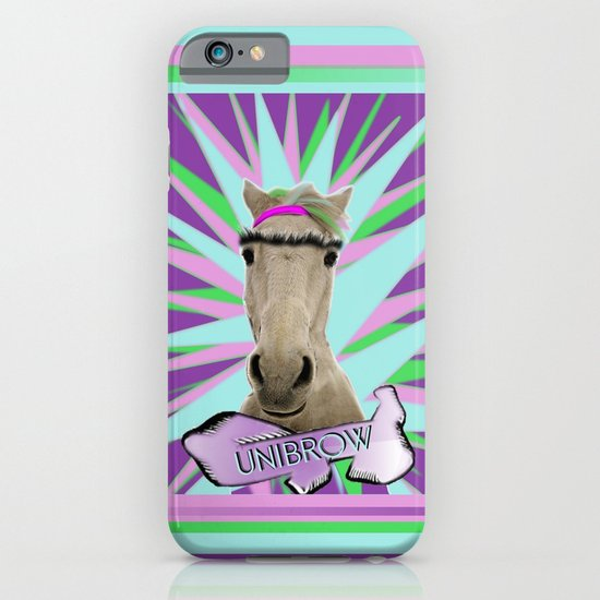 Unibrow iPhone & iPod Case