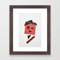 TC3 Framed Art Print