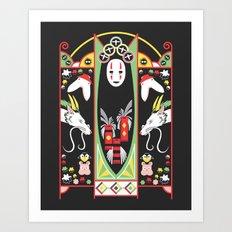 Spirited Deco Art Print