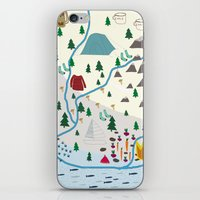 summer camp iPhone & iPod Skin