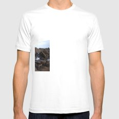 Low Tide Mens Fitted Tee SMALL White