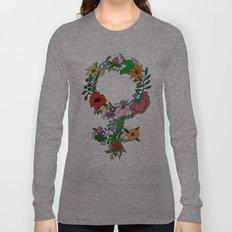 Feminist flower in color Long Sleeve T-shirt
