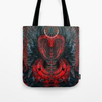 Seen Through Flames And … Tote Bag