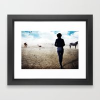 Augmented Delusion Framed Art Print