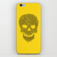 Yellow Skull iPhone & iPod Skin