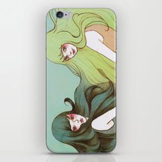 Dream Sisters iPhone & iPod Skin