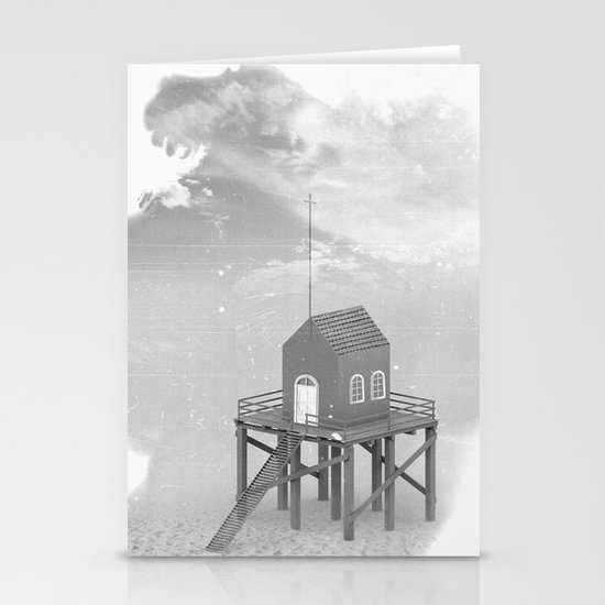 Church Pier Stationery Card
