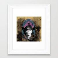 YAS REVEN Framed Art Print