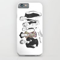 one direction iPhone & iPod Cases featuring One Direction by Stephanie Recking