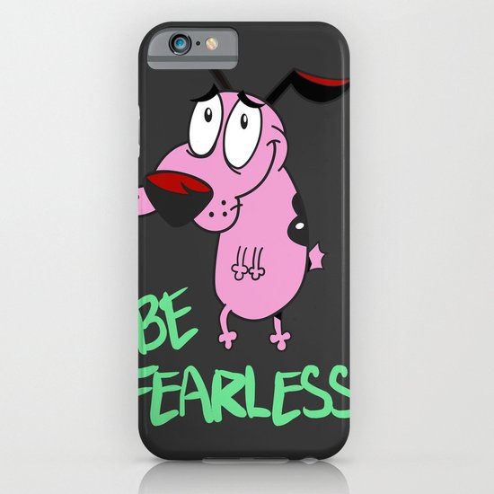 Be Fearless iPhone & iPod Case