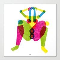 INFINITY WOMAN Canvas Print