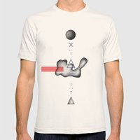- Sur La Ligne - Mens Fitted Tee Natural SMALL