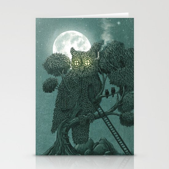 Nightwatch Stationery Card