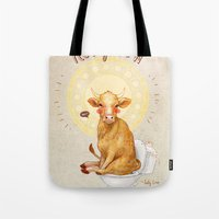 Holy Cow! Tote Bag